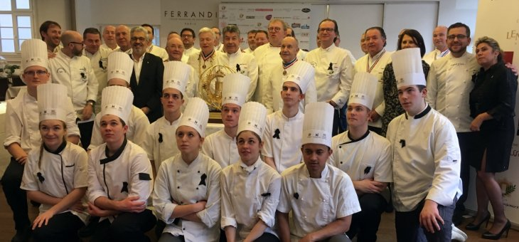 The 64th edition sponsored by Régis Macron, 3 star Michelin chef and Master Chef of France