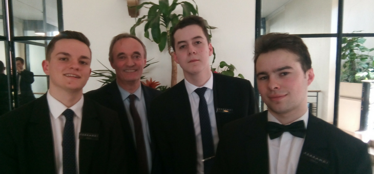 """THREE SOMMELIERS FROM FERRANDI Paris CAMPUS, SAINT-GRATIEN ARE FINALISTS FOR THE """"BEST APPRENTICE OF FRANCE"""" !"""