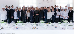 Brigitte Macron at FERRANDI Paris