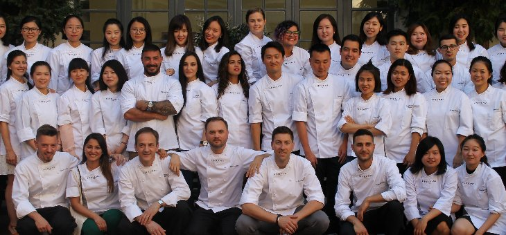 Graduation ceremonies 2017 ferrandi for Academie de cuisine summer camp