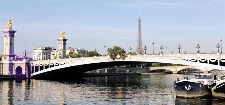 The Alexandre-III Bridge